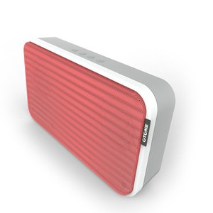 Otone BluWall Portable Bluetooth Speaker - Red