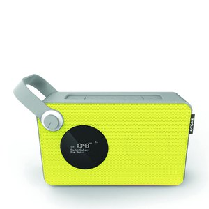 Otone BluMotion Portable Bluetooth DAB Radio - Yellow