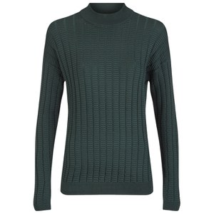 Y.A.S Women's Nora Coordinating Knitted Jumper - Green Gables