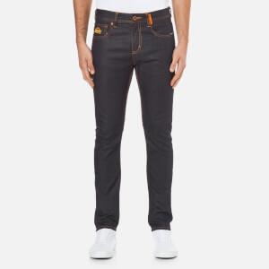 Superdry Mens' Standard Skinny Denim Jeans - Full Raw
