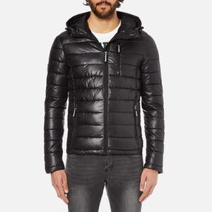 Superdry Men's Fuji Slick Padded Jacket - Black