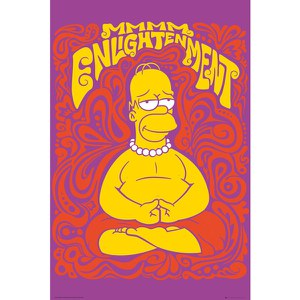 The Simpsons Enlightenment - 24 x 36 Inches Maxi Poster