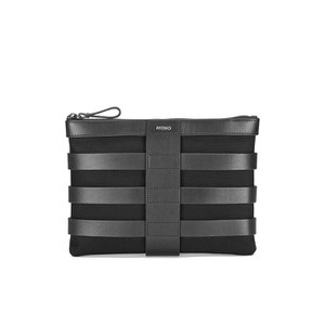 Mismo Men's Grid Pouch - Black/Black
