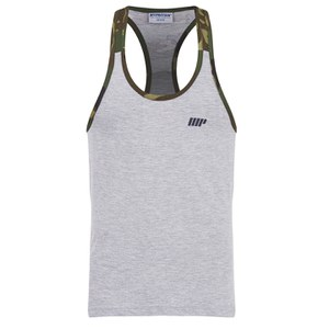 Myprotein Men's Camo Tank Top - Grey Body