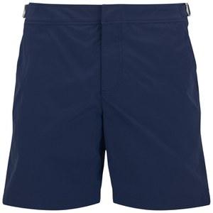 Orlebar Brown Men's Mid Length Bulldog Swim Shorts - Navy