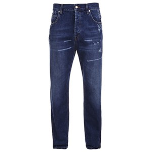 McQ Alexander McQueen Men's Loose Jeans - Vintage Medium Blue
