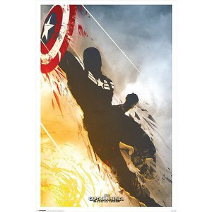 Marvel Captain America Winter Soldier - 24 x 36 Inches Maxi Poster