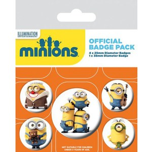 Minions Characters - Badge Pack