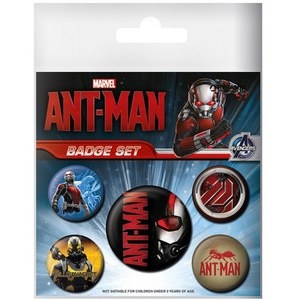 Marvel Ant Man - Badge Pack
