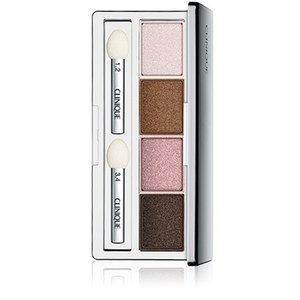 Clinique All About Shadow Lidschattenquad Pink Chocolate