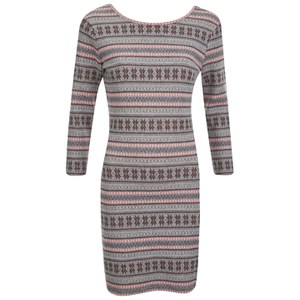 Superdry Women's Jacquard Knitted Bodycon Dress - Pop Coral