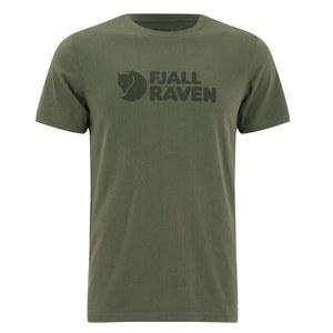 Fjallraven Men's Logo T-Shirt - Green