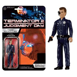 ReAction Terminator T-1000 with Hole in Head SDCC Exclusive 3 3/4 Inch Action Figure
