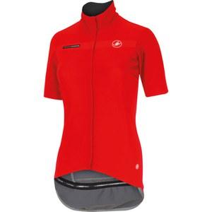 Castelli Womens Gabba Short Sleeve Jersey - Red
