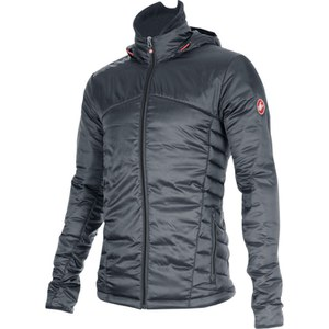 Castelli Meccanico Puffy Jacket - Grey/Red