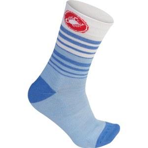 Castelli Women's Righina 13 Socks - Blue