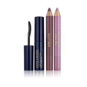Estée Lauder Magic Smoky Smoldering Eyes Kit in Pink Charcoal/Charred Plum