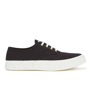 Maison Kitsuné Men's Canvas Sneakers - Black