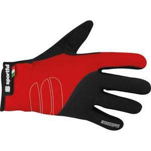 Sportful Windstopper Essential Gloves - Red/Black