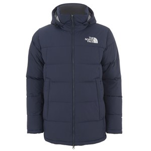 The North Face Men's Fossil Ridge Down Filled Parka - Cosmic Blue