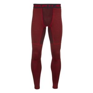 Under Armour Men's ColdGear Twist Leggings - Red
