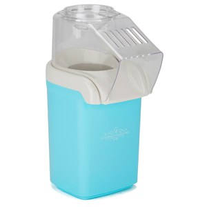Gourmet Gadgetry Vintage Tea Party Popcorn Maker - Blue