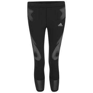 adidas Women's Sprintweb 3/4 Running Tights - Black
