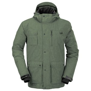 Urban Beach Men's Olen Tech Jacket - Green