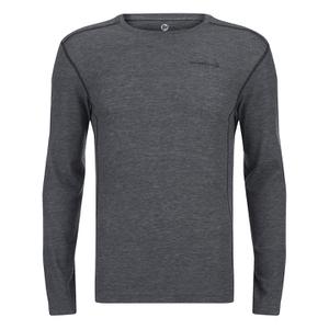 Merrell Geom Long Sleeve T-Shirt - Granite Heather/Black