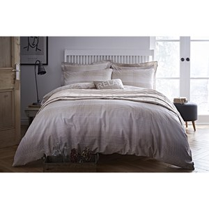 Bianca Check Duvet Cover - Natural