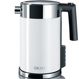 Graef WK701.UK 1.5L Kettle - Multi Temperature Settings and Child Lock - White