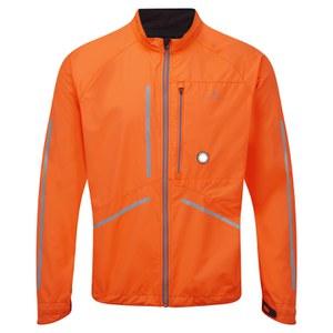 RonHill Men's Vizion Photon Jacket - Orange/Granite