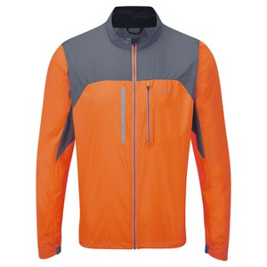RonHill Men's Vizion Windlite Jacket - Orange/Granite