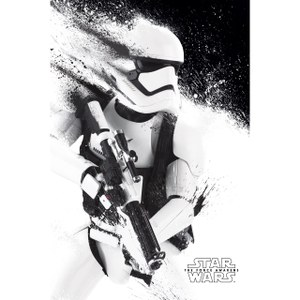 Star Wars: The Force Awakens Stormtrooper Paint - 61 x 91.5 cm Poster
