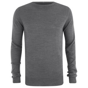 Soul Star Men's Alpha Jumper - Grey Melange