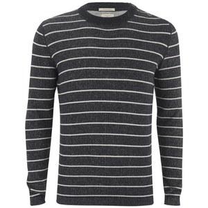 Selected Homme Men's Axel Crew Neck Sweatshirt - Navy Blazer