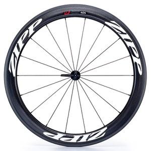 Zipp 404 Firecrest Carbon Clincher Front Wheel 2016 - White Decal