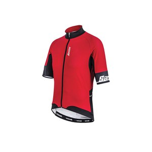 Santini Beta Windstopper Short Sleeve Jersey - Red