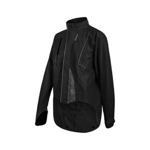 Santini DRUN Rainproof Jacket - Black
