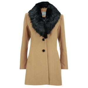 Vero Moda Women's Cilla Daisy 3/4 Jacket - Tobacco Brown