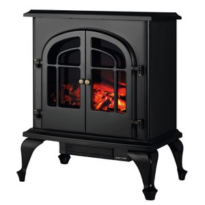 Warmlite WL46015 Log effect Stove Fire - Black - 2000W