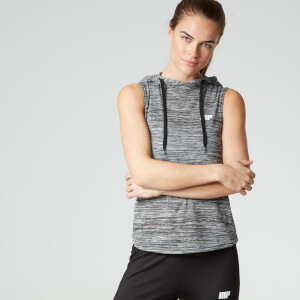 Myprotein Women's Slouch Sleeveless Hoodie - Grey