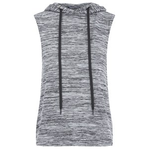 Myprotein Women's Slouch Sleeveless Hoodie - Grey (USA)