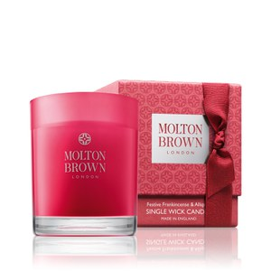 Molton Brown Festive Frankincense and Allspice Single Wick Candle Christmas Edition