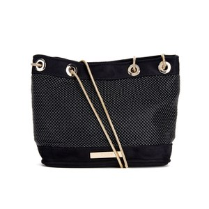 Dune Women's Elysha Mini Stud Bucket Bag - Black