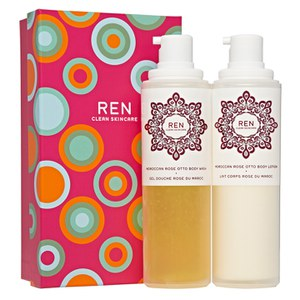 REN Moroccan Rose Duo Gift Set (Worth £44.00)