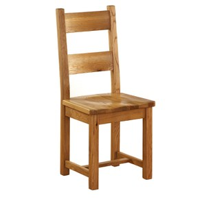 Vancouver Oak NB004 Ladderback Dining Chair