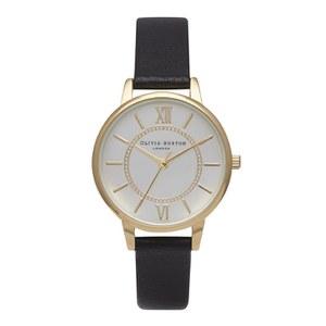 Olivia Burton Women's Wonderland Watch - Gold/Silver/Black