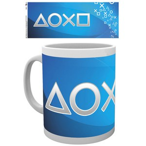 PlayStation Silver Buttons - Mug