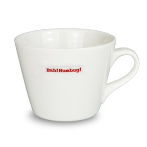Keith Brymer Jones Bah Humbug Medium Mug - White